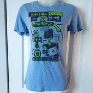 [NWOT] Rick & Morty Blue Graphic Tee